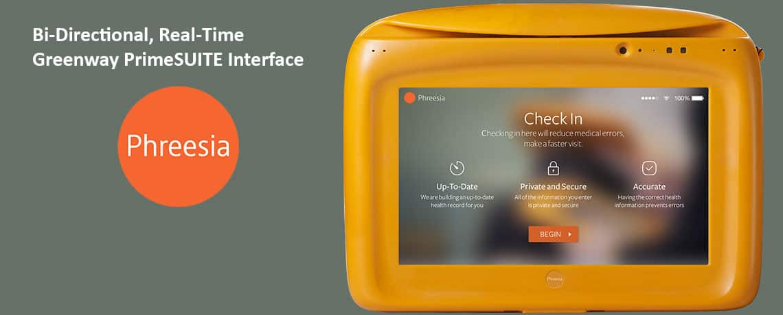 Phreesia Check In Tablets